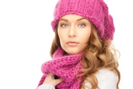 vlasy v zime