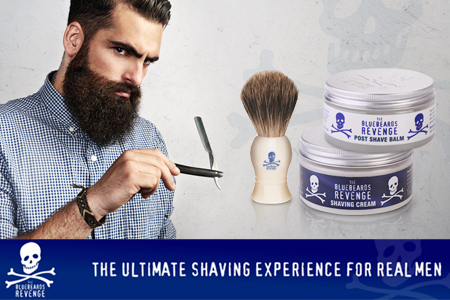 The Bluebeards Revenge - visszatértünk a hagyományokhoz a borotválkozás terén - most a kolléga tesztelte a termékeket