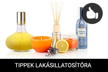 Tippek az illatos háztartáshoz