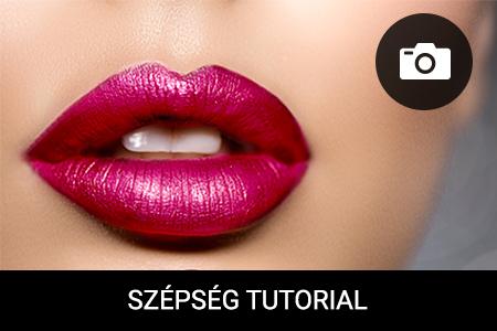 BEMUTATÓ: Hogyan sminkelhetjük csókállóra ajkainkat? 5 lépés a csókálló rúzs felvitelére