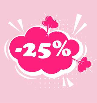 25 % kedvezmény csak most
