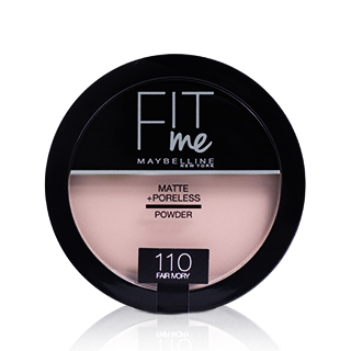 Maybelline Fit Me! Matte+Poreless mattosító púder