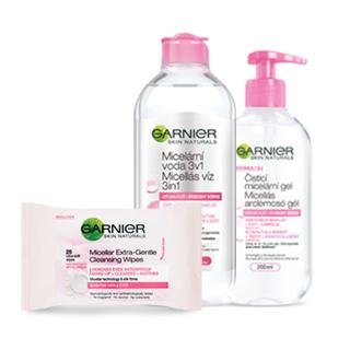 Garnier A bőr tisztítása